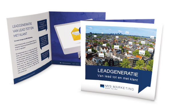 Leadgeneratie brochure